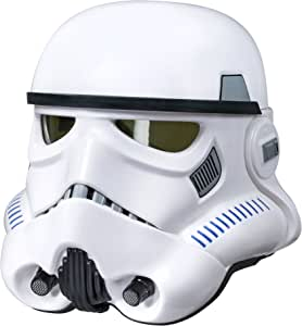 Star Wars The Black Series Rogue One: A Star Wars Story Imperial Stormtrooper Electronic Voice Changer Helmet (Amazon Exclusive)