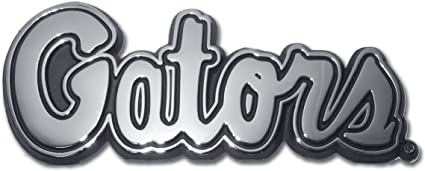 Elektroplate University of Florida Emblem Script Gators