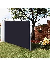 Yescom 71 X 118 Outdoor Patio Retractable Side Awning Waterproof Sun Shade Wind Screen