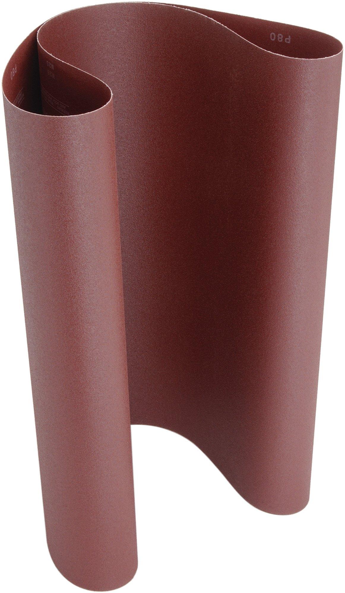 Steelex D3306 20-1/2-Inch by 48-Inch Aluminum Oxide Sanding Belt, 80 Grit