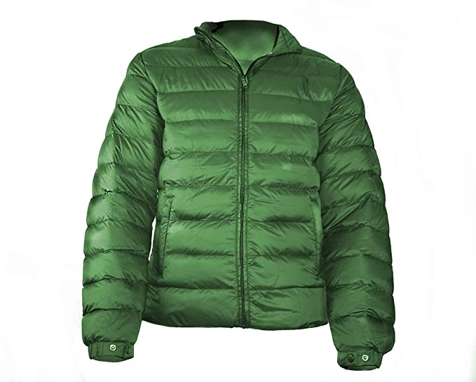 Dos Galgos Abrigo para Hombre (50, Verde)
