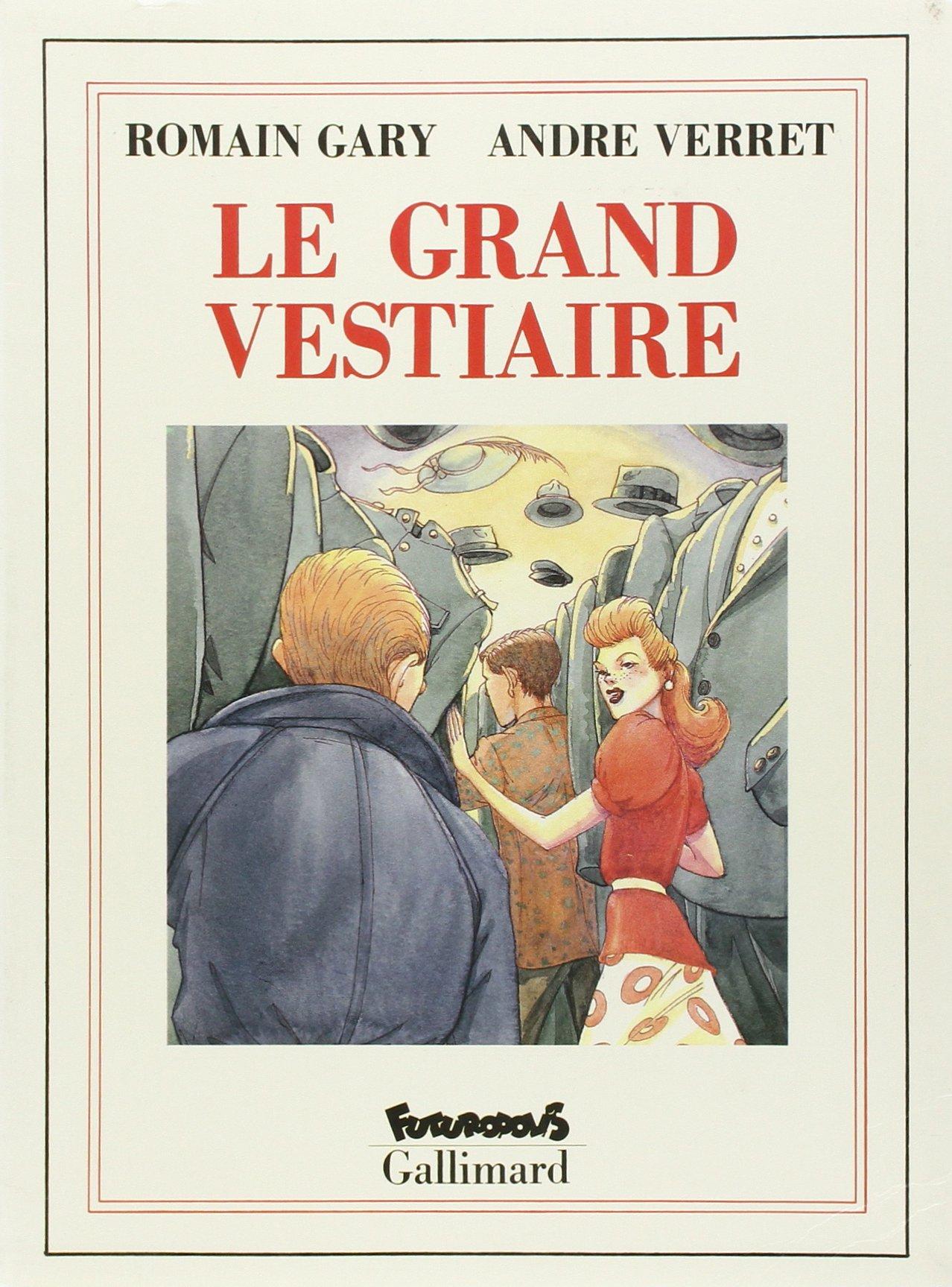 9782737656309 Amazon André Vestiaire Le Grand Romain Verret Gary UzBZYqwZ