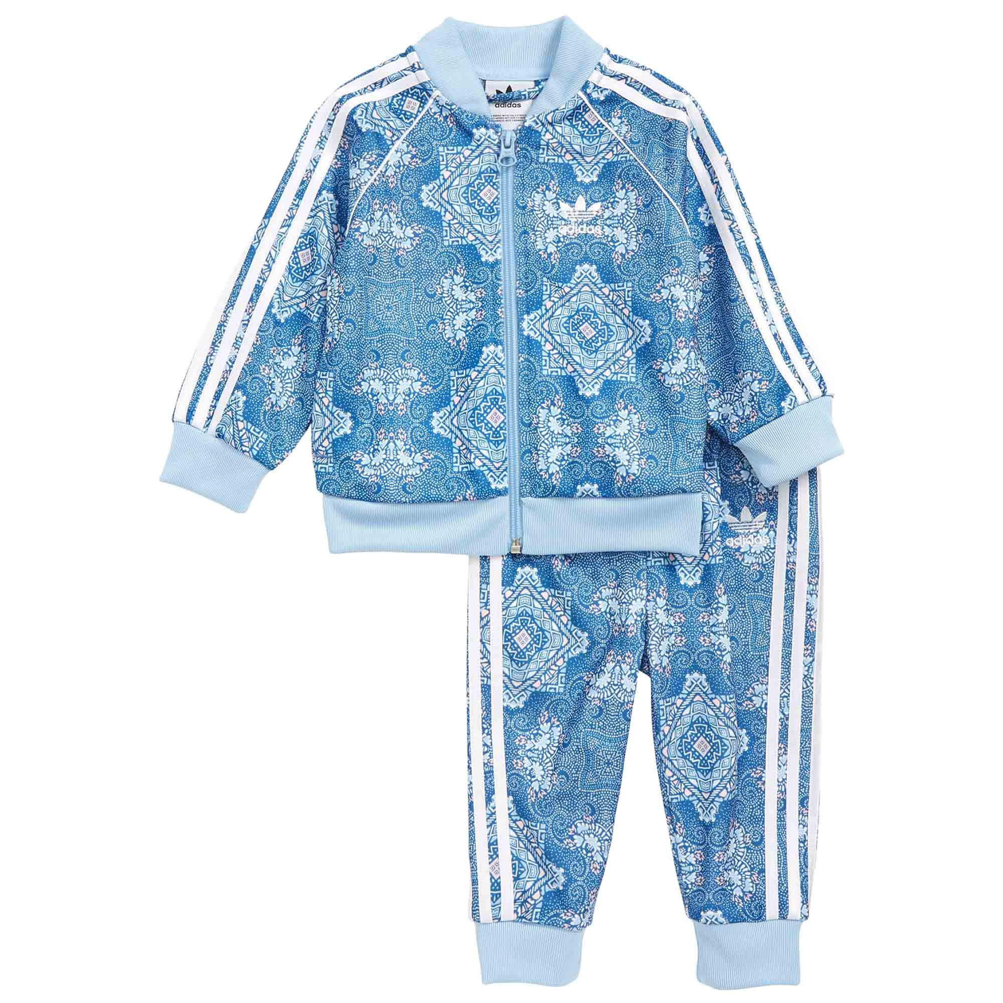 adidas Originals Kids' Toddler Culture Clash SST Track Suit Set, multi, 2T by adidas Originals