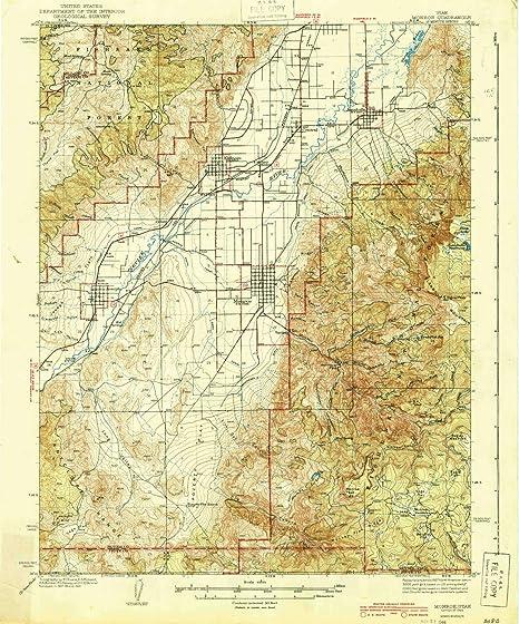 Amazon Com Yellowmaps Monroe Ut Topo Map 1 62500 Scale 15 X 15