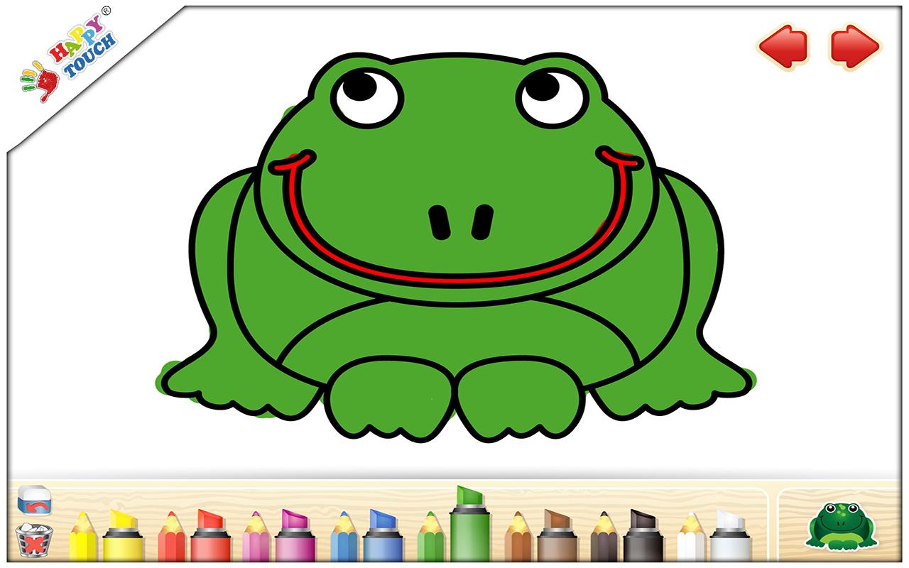 Libro de colorear para niños (de Happy Touch Apps para el