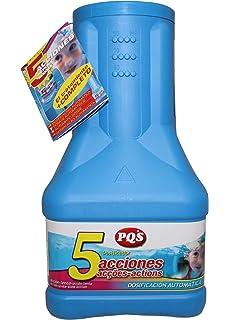 PQS- 11532 - Dosificador 5 acciones acción lenta: Desinfectante, Estabilizador de Cloro,