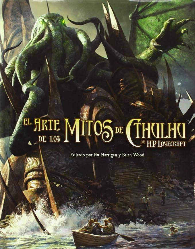 Edge Entertainment-El Arte de los Mitos de Cthulhu, Multicolor (EDGHP01): Aa.Vv.: Amazon.es: Juguetes y juegos