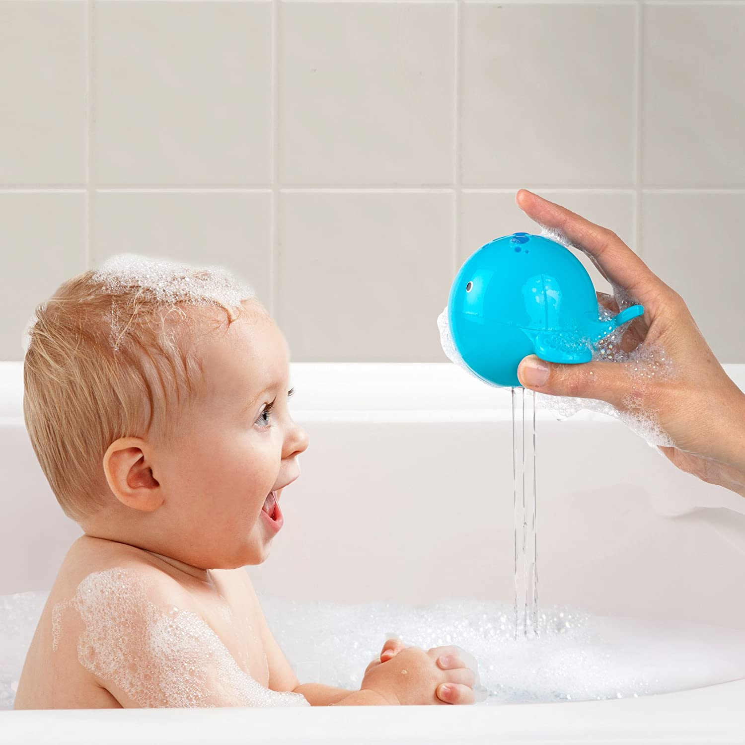 Amazon.com : Oball Bath Toy, Sink \'N Spill : Baby