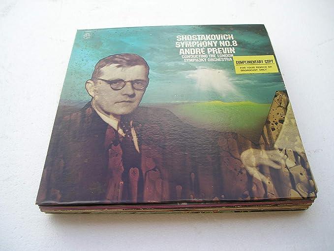 Shostakovich Andre Previn London Symphony Orchestra