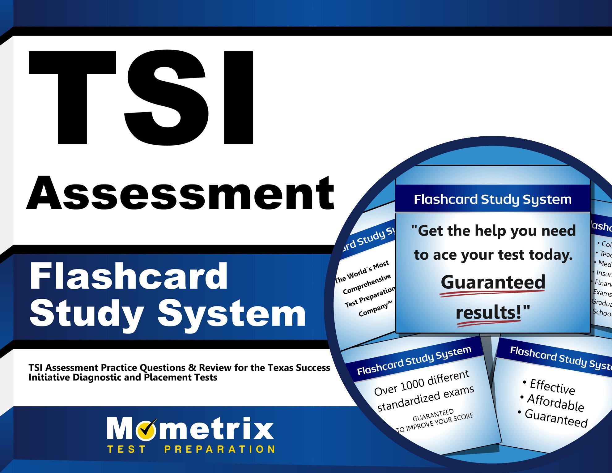 TSI Assessment Flashcard Study System: TSI Assessment Practice
