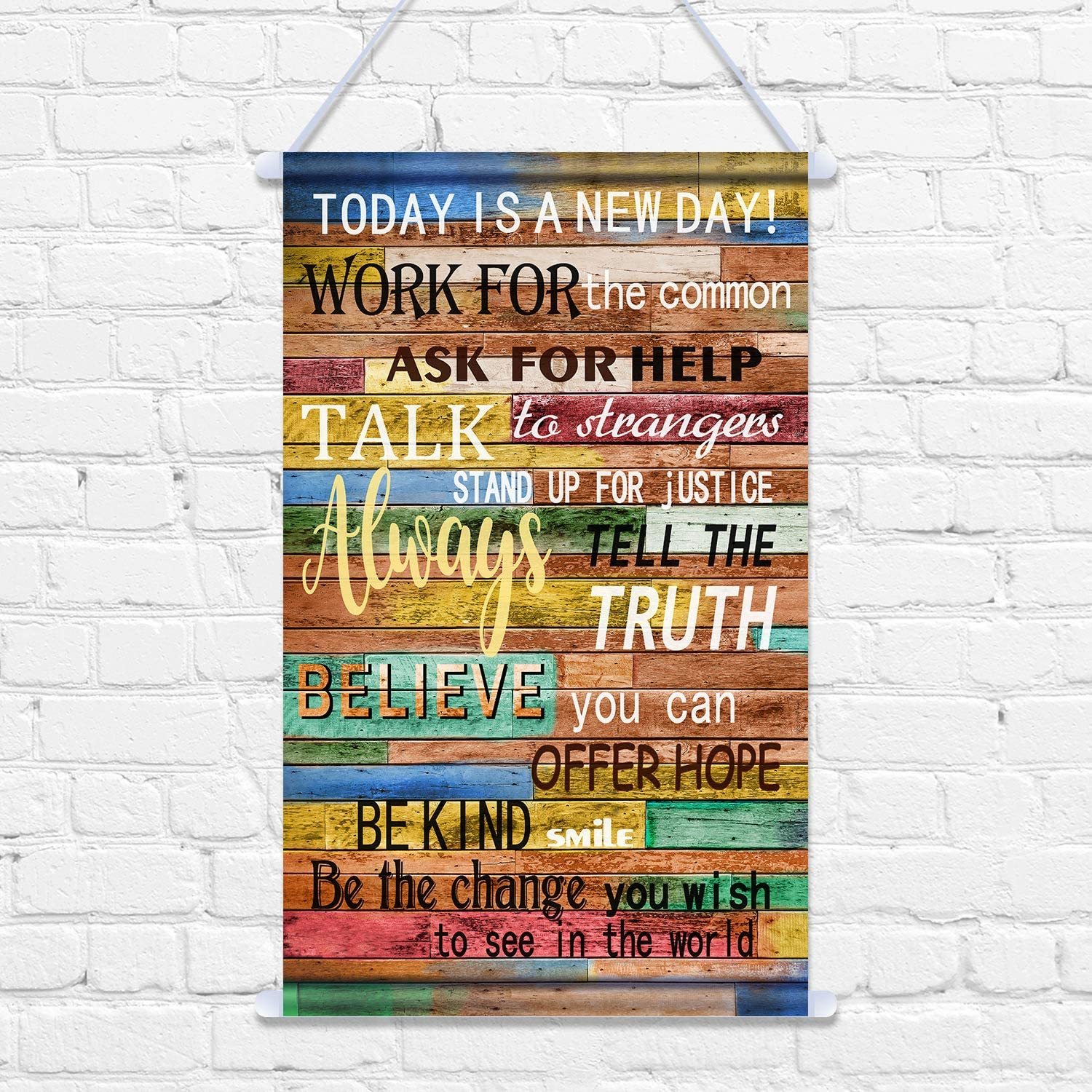 Today is a GOOD DAY Motivational Quote Poster Wall Art Decor Inspirational