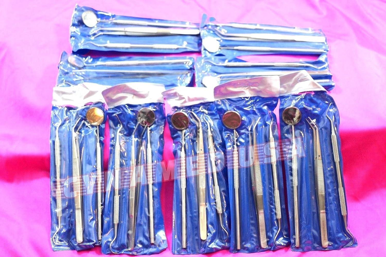 Nueva alemán inoxidable 90 instrumentos básicos para cepillo de dientes Espejo Explorer Sonda alicates (30 de cada): Amazon.es: Amazon.es