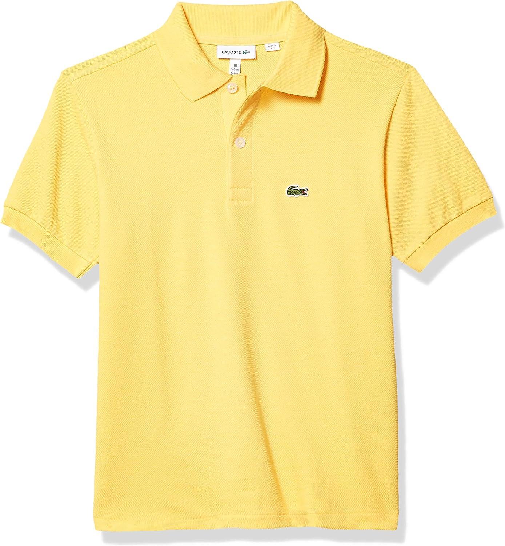 Lacoste Boys Short Sleeve Classic Pique Polo