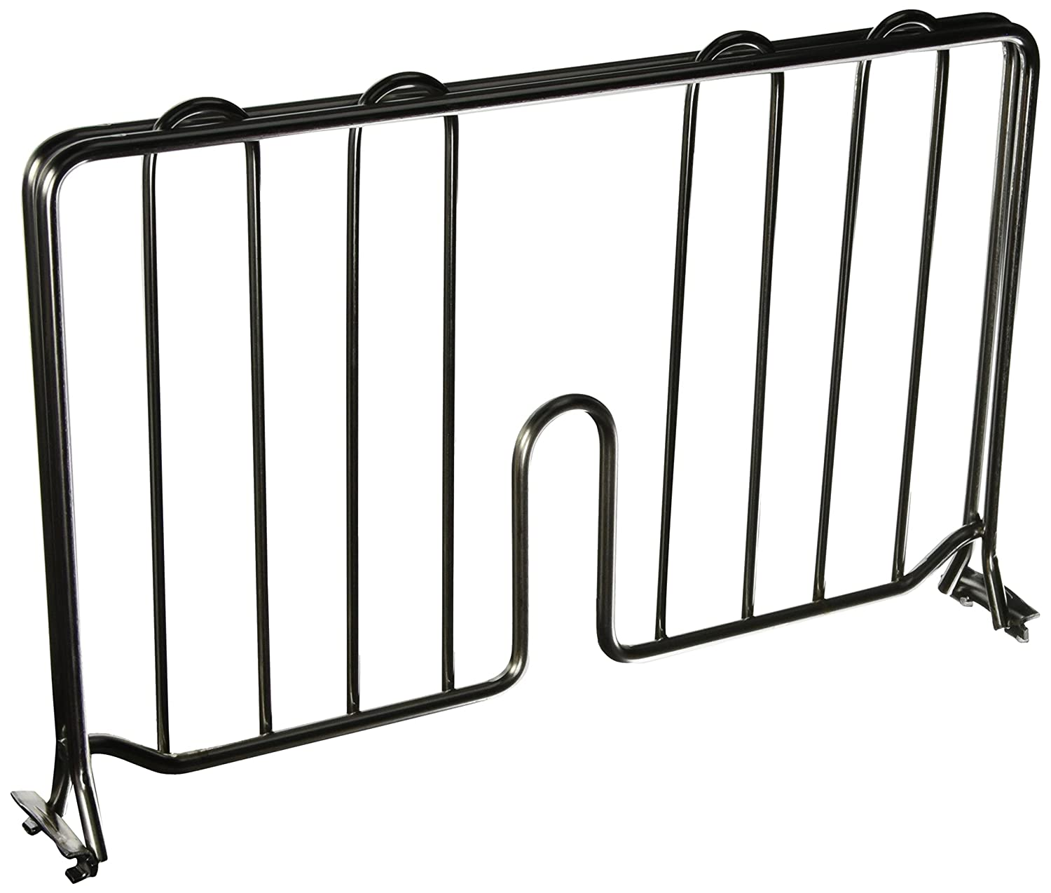 Metro DD14C Super Erecta Chrome Plated Shelf Divider, 14 Width x 8 Height InterMetro Industries