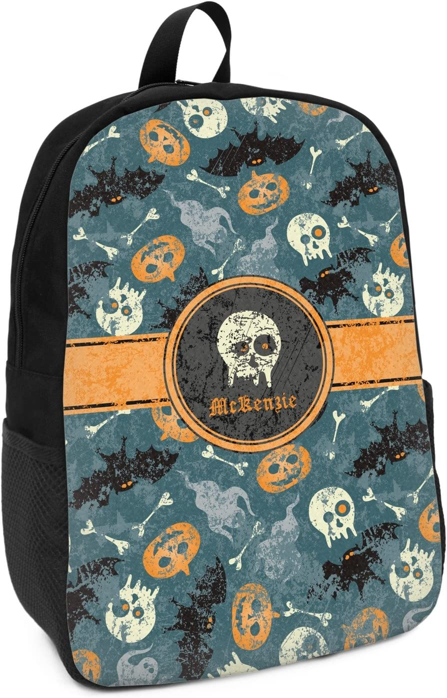 Personalized Vintage//Grunge Halloween Kids Backpack