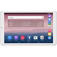 Alcatel Pixi 3 - Tablet de 10'' HD (WiFi, Procesador QuadCore 1.3GHz, 1GB de RAM, 8 GB de memoria interna, Android 5 actualizable), Blanco