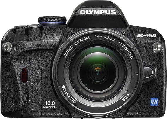 Olympus E-450 - Cámara Réflex Digital 10 MP (Objetivo 14-42mm ...
