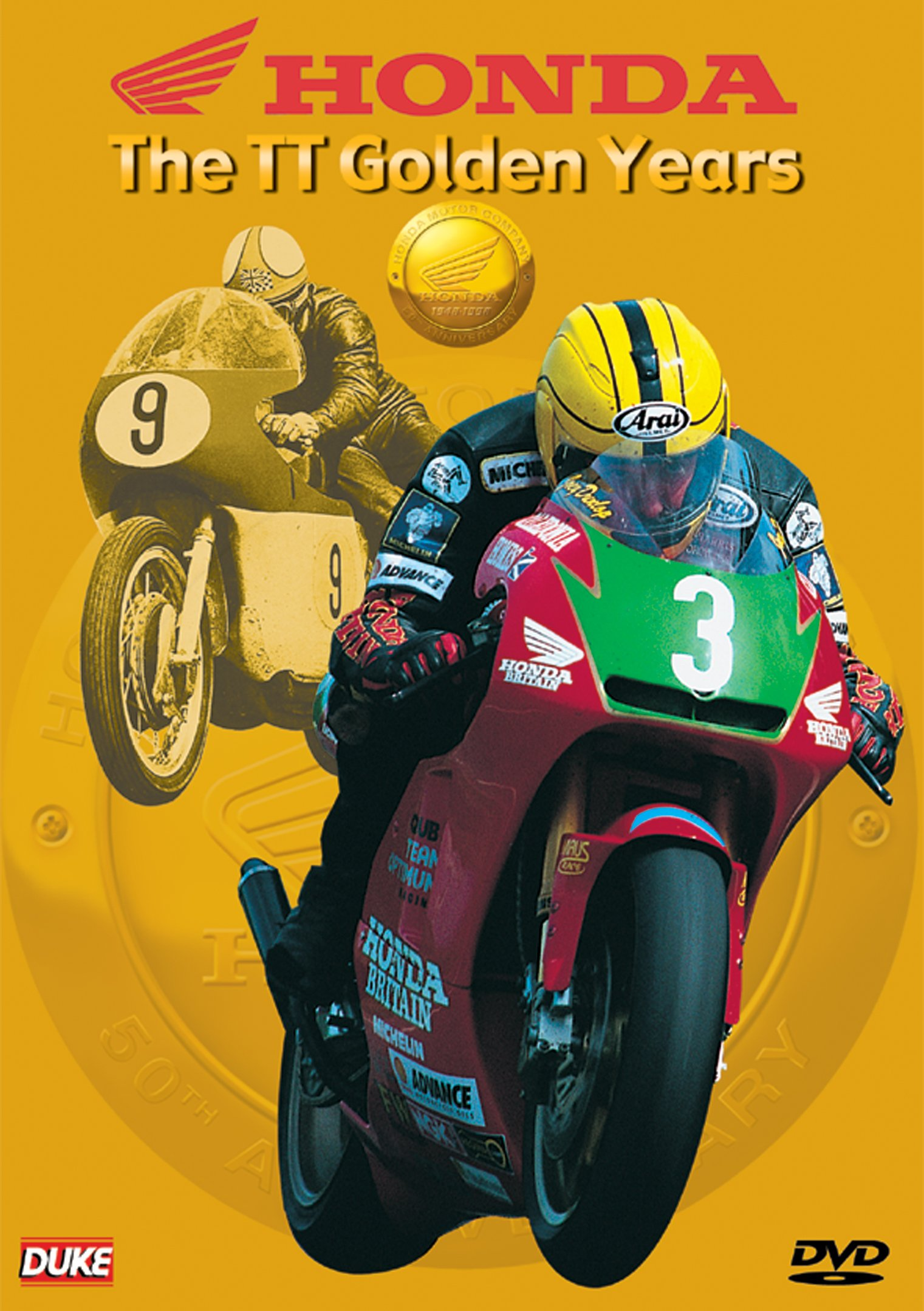 DVD : Honda The Tt Golden Years (DVD)