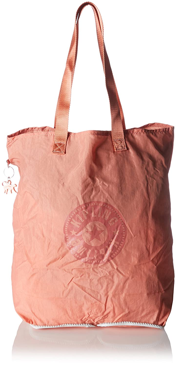 Kipling Hip Hurray 5 Tote Bag (Neon Peach)  Amazon.in  Shoes   Handbags 76e83e36a8a4a