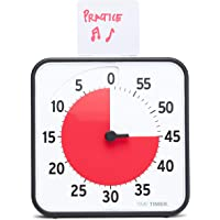Time Timer 8 inch Visual Timer — 60 Minute Kids Desk Countdown Clock with Dry Erase Activity Card, Also Magnetic — for…