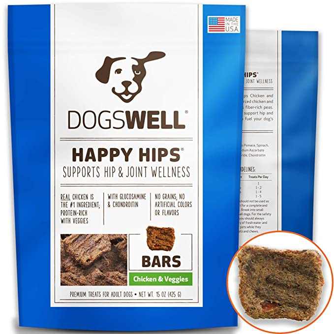 Amazon Dogswell Happy Hips Dog Treats Chicken Veggies 15