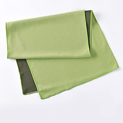 Toallas cómodas toallas suaves Movimiento Toalla Toalla de hielo al aire libre Alargado gimnasio Ejecutar absorción
