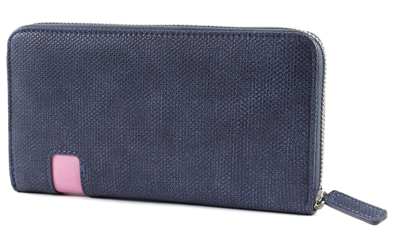 0bde287a9d8cc9 Zwei Mademoiselle Wallet Damengeldbörse 19 cm, canvas-blue: Amazon.de:  Koffer, Rucksäcke & Taschen