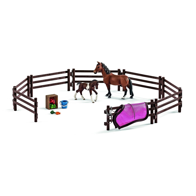 Schleich Pferde - Schleich 42192 - Koppel Spielzeugfigur