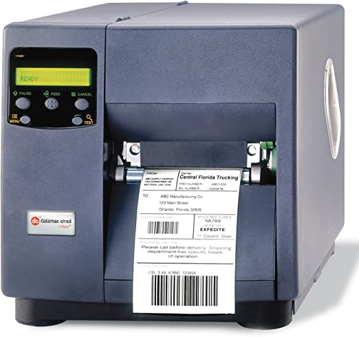 Label printer LAN direct thermal // thermal transfer - 300 dpi Roll Datamax I-Class Mark II I-4310e 11.8 cm parallel monochrome up to 600 inch//min serial USB