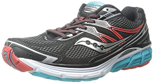 Saucony Omni 14 Womens Zapatillas Para Correr - SS16, BLACK TEAL RED, ...
