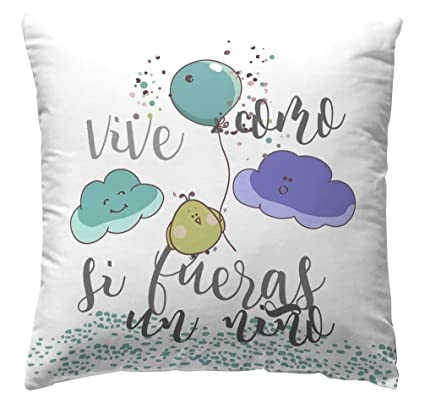 Martina Home Nube Funda de Cojín, Tela, 50 x 50 cm: Amazon ...