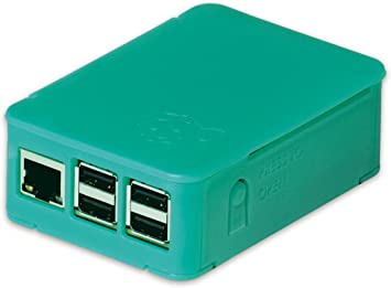 Caja de OKW para Raspberry Pi 3 y Pi 2 (Modelo B), Pi (B+) y Asus Tinker Board, Caja con Ranuras de ventilación, Plegable sin Herramientas, Verde Menta translúcido: Amazon.es: Informática