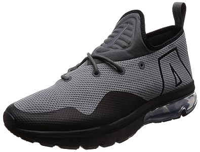 Nike Mens Air Max Flair 50, Dark Grey/Black-Metallic Silver, 9