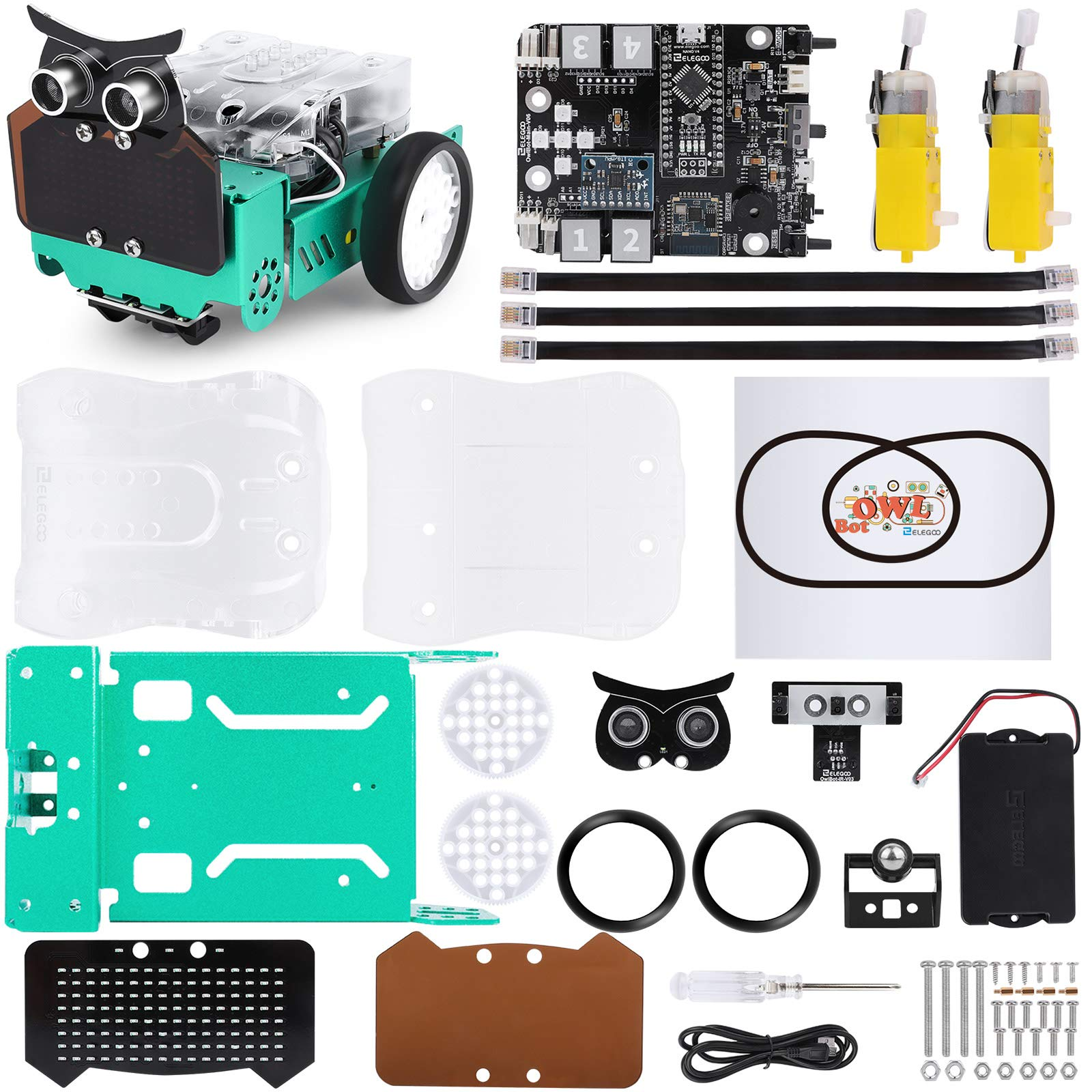 Robot Educativo para armar y programar en Arduino ELEGOO b