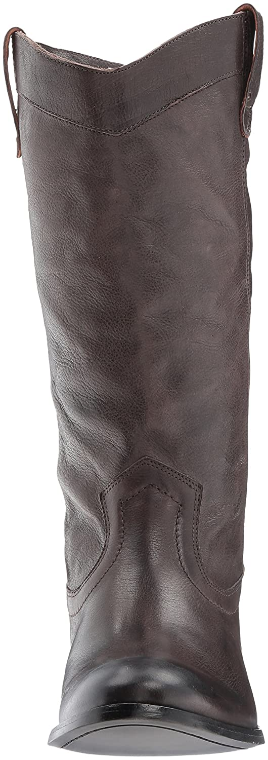 FRYE Women's Melissa Pull on Fashion Boot B06WV6X35G 5.5 B(M) US|Smoke