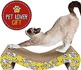animals favorite cat scratcher cardboard amazon     cat hammock scratcher invironment easy life cat      rh   amazon
