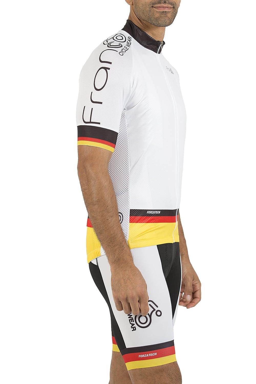 Franco Cycle Wear SHIRT メンズ B075PG3Y9L  Large