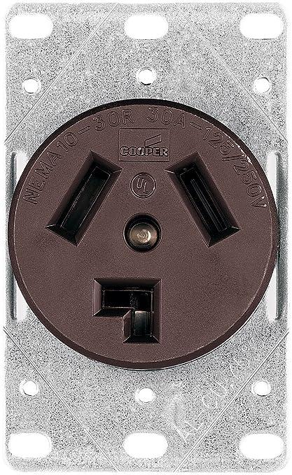 Astounding Amazon Com Eaton Wiring 38B 30 Amp Commercial And Industrial Dryer Wiring Database Gramgelartorg