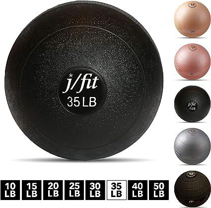J/ajuste peso muerto Slam bola, balón medicinal, pelota de pared ...