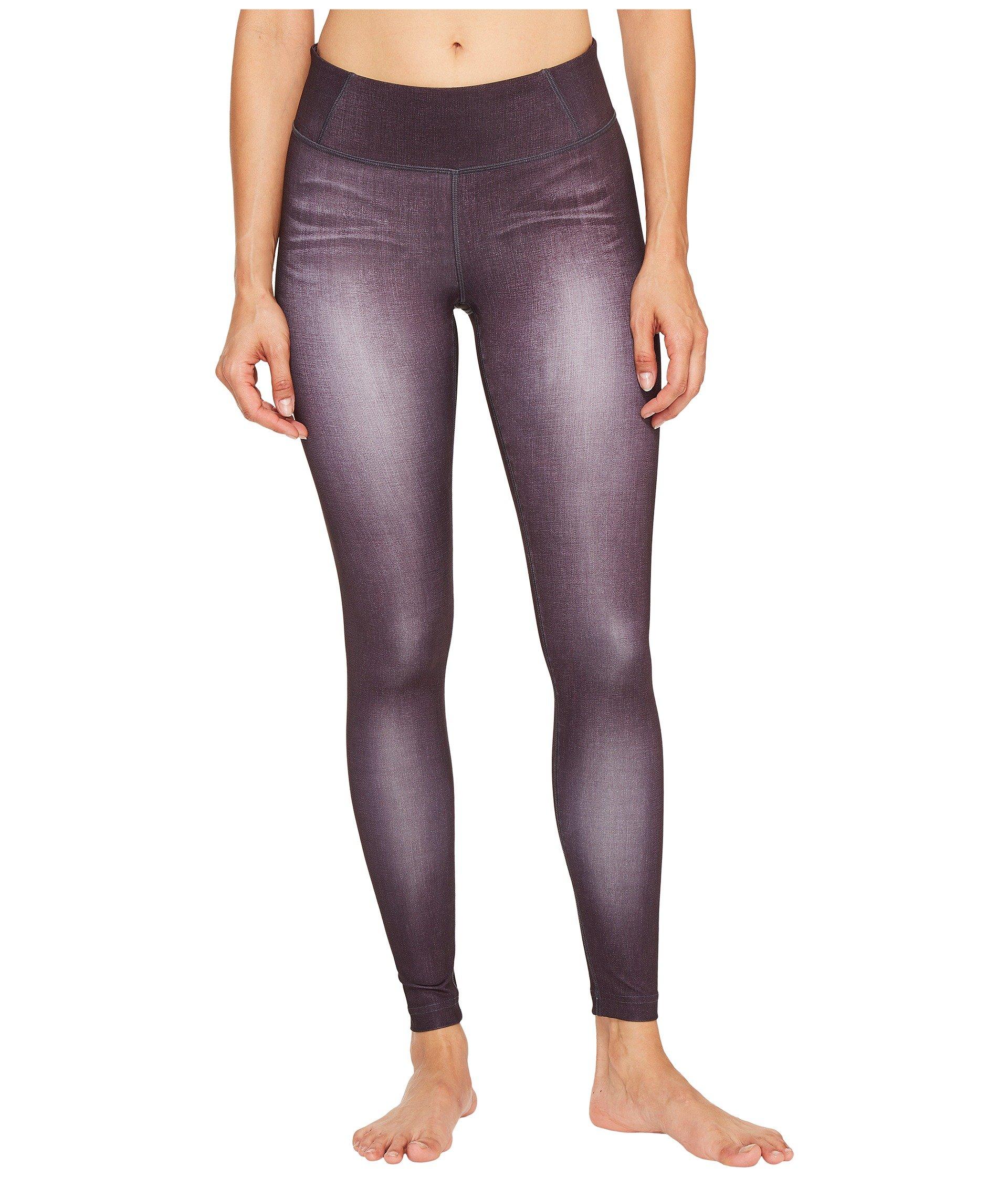 Lucy Women's Indigo Run Tights Black Indigo Pants by Lucy