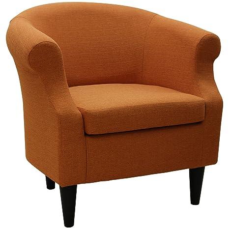 Amazon.com: Silla tapizado, Barril Back Cojín de asiento ...
