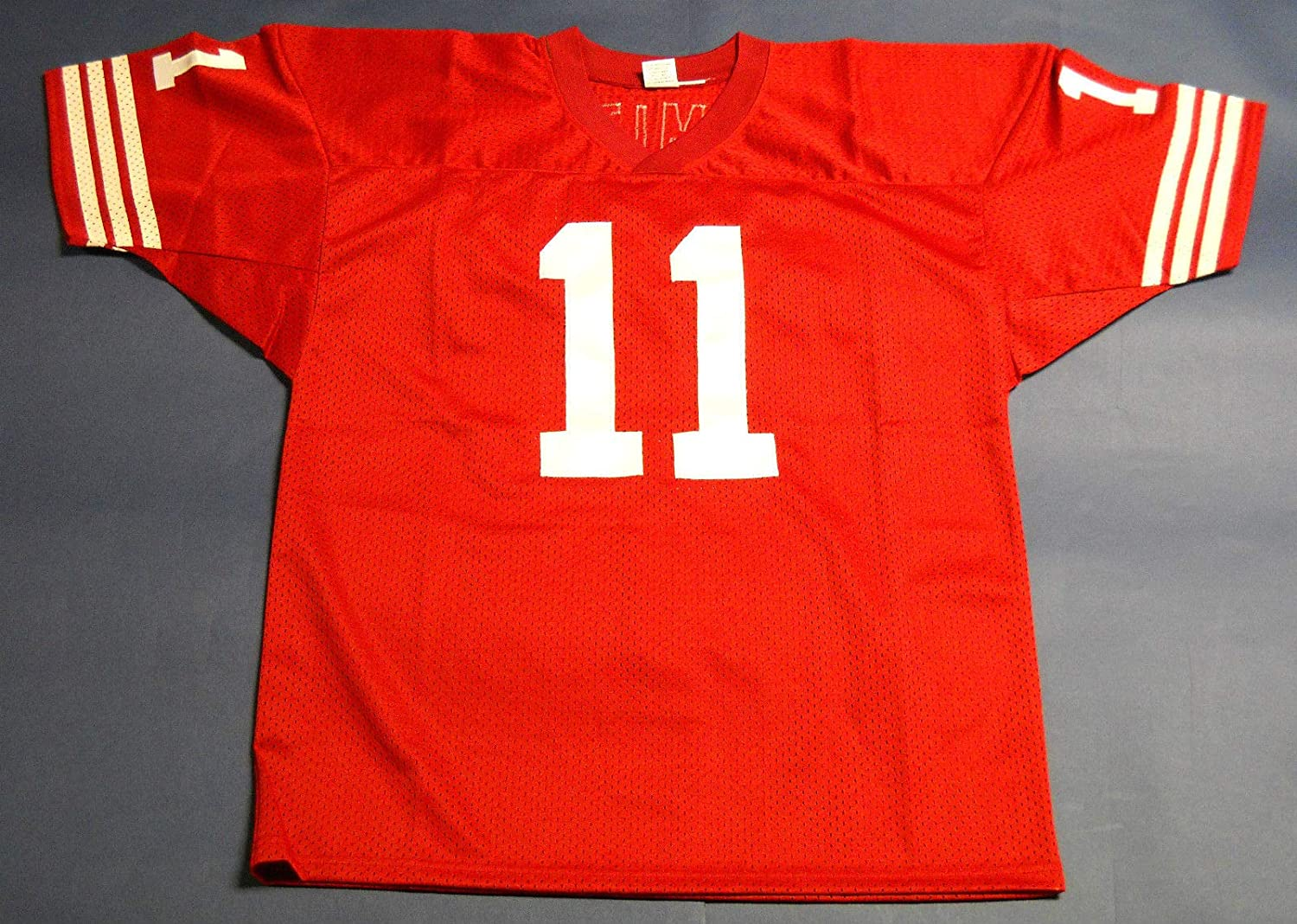 ALEX SMITH AUTOGRAPHED SAN FRANCISCO 49ERS JERSEY AASH READ NOTE at  hot sale