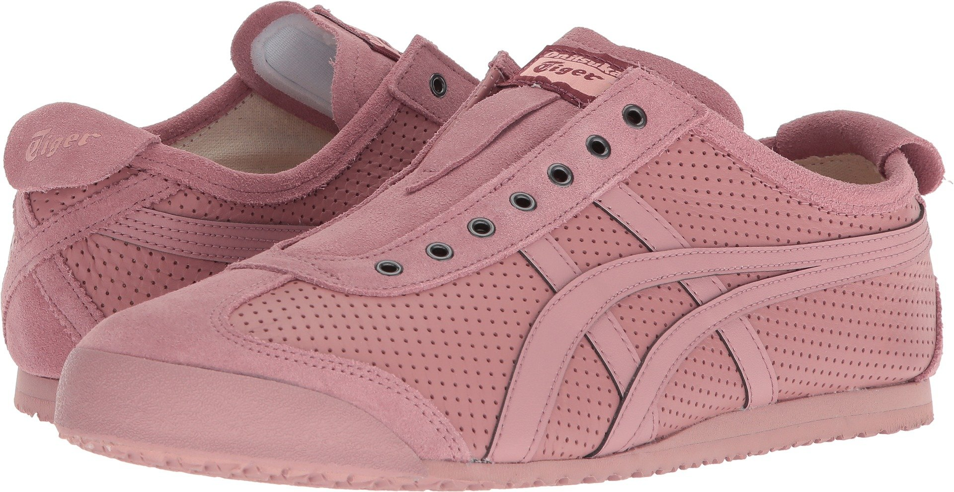 Onitsuka Tiger by Asics Unisex Mexico 66 Slip-On Ash Rose/Ash Rose 11 M US