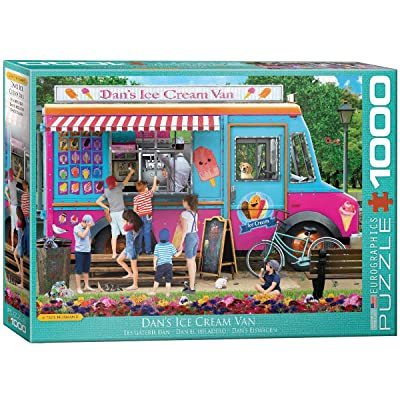 EuroGraphics Dan's Ice Cream Van by Paul Normand 1000-Piece Puzzle: Toys & Games