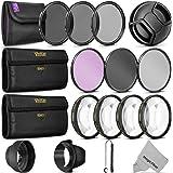 フィルタ、フィルタキット/ UV CPL FLD + NDセット+マクロ 58MM KM0540