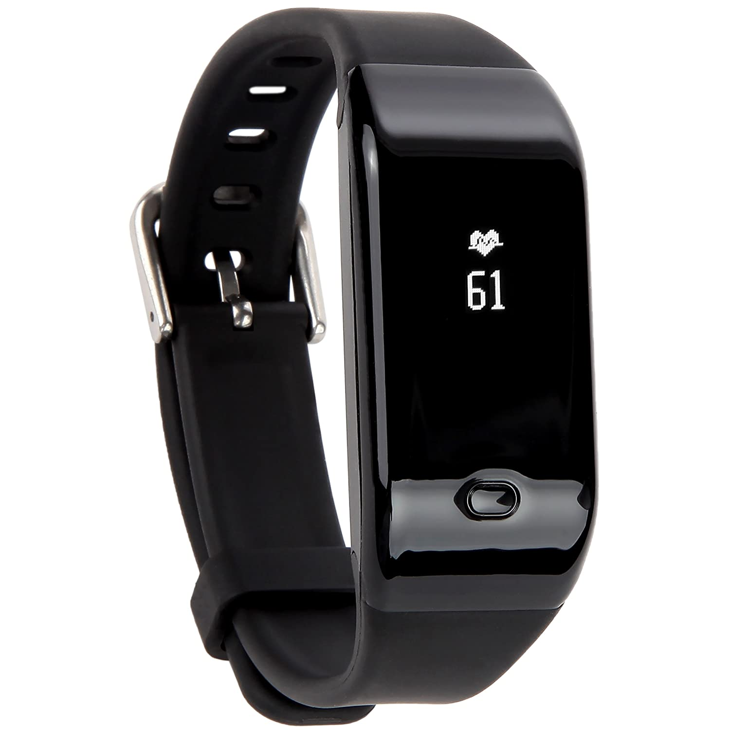 Fitness Tracker HR , Activity Tracker with Heart Rate Watch,Bluetooth Smart Wristband with Sleep Monitor, Steps,Counter,Calories Track for Android and IOS Smart Phones