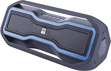 Altec Lansing RockBox - Waterproof, Wireless, Bluetooth Speaker, Floating,  IP10, Portable Speaker, Strong Bass, Rich Stereo System, Microphone, 10 ft
