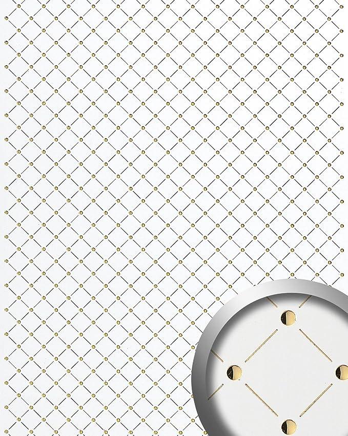 Amazon Com Wallface 17856 3d Wall Panel Self Adhesive Mosaic Decor