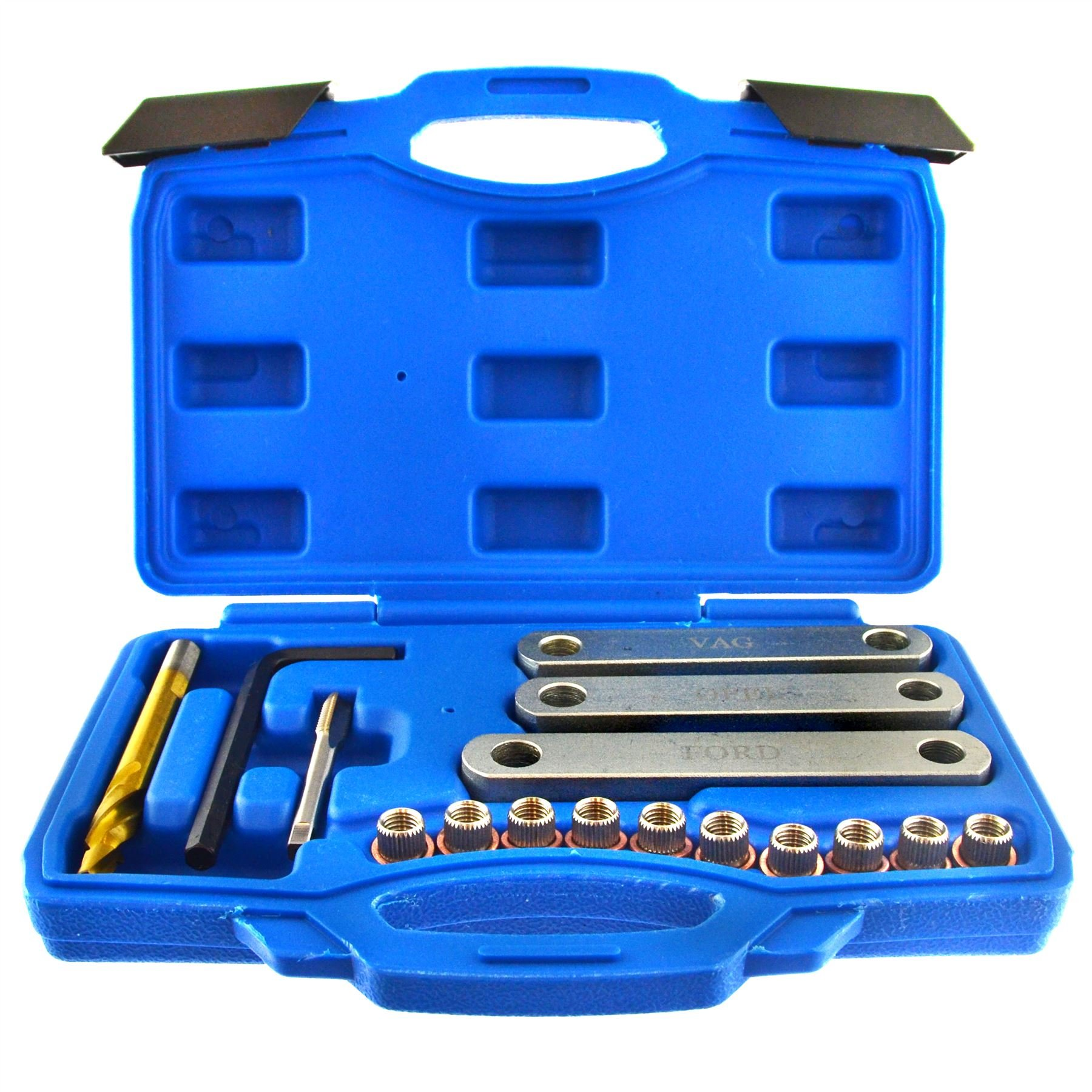 AB Tools-US Pro Brake Calliper Guide Thread Repair Kit Core Drill VAG VW Vauxhall Ford Seat by AB Tools-US Pro (Image #1)