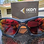 Amazon.com: Polarizadas Ikon Iridium Lentes de repuesto para ...